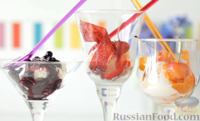 Фото приготовления рецепта: Пастила из абрикосов, клубники и черники - шаг №17