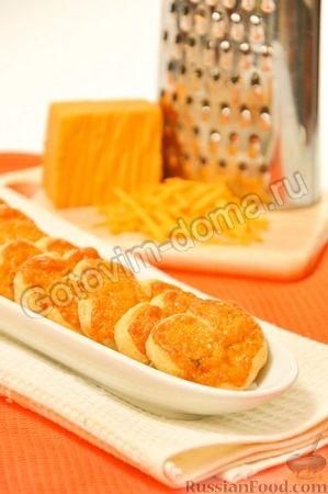 Рецепт Слоеные сердечки с сыром