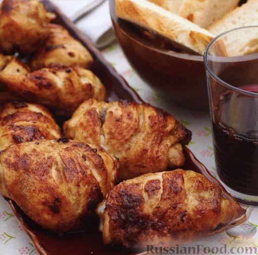 Рецепт Курица в медово-горчичном маринаде