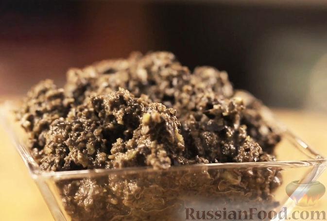 Рецепт Тапенада из черных оливок