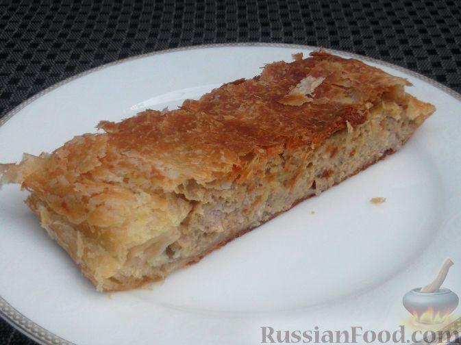 Рецепт Австралийский мясной штрудель