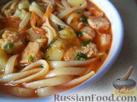 Фото к рецепту: Лагман (узбекская кухня)