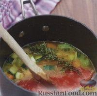 Фото приготовления рецепта: Овощной суп - шаг №3