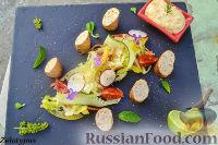 Фото к рецепту: Копченые колбаски из рубленой индейки со сливочным сыром