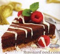 Фото к рецепту: Шоколадный пирог