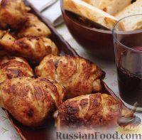 Фото к рецепту: Курица в медово-горчичном маринаде
