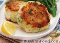 Фото к рецепту: Котлеты из палтуса с картофельным пюре