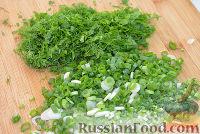Фото приготовления рецепта: Зеленый борщ - шаг №4
