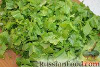 Фото приготовления рецепта: Зеленый борщ - шаг №5