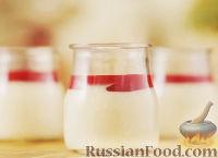 Фото к рецепту: Панна Котта с ягодным соусом