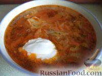 Фото к рецепту: Щи из свежей капусты (классический рецепт)