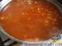Фото приготовления рецепта: Щи из свежей капусты (классический рецепт) - шаг №11