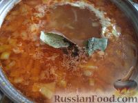Фото приготовления рецепта: Щи из свежей капусты (классический рецепт) - шаг №14