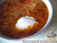 Фото приготовления рецепта: Щи из свежей капусты (классический рецепт) - шаг №16