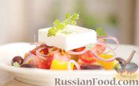 Фото к рецепту: Греческий салат