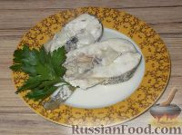Фото к рецепту: Щука, тушенная в сметане