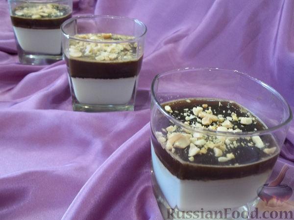 Рецепт Кофейно-молочное желе