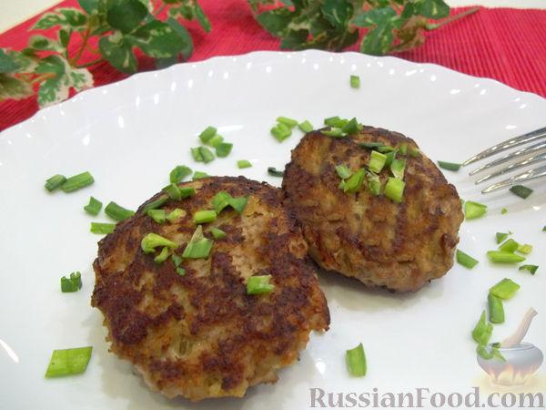 Рецепт Картофельно-мясные котлеты