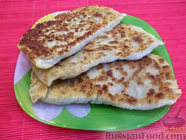 Рецепт Чебуреки с мясом