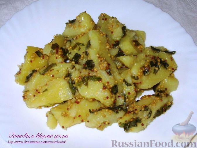 Рецепт Горчичный картофель