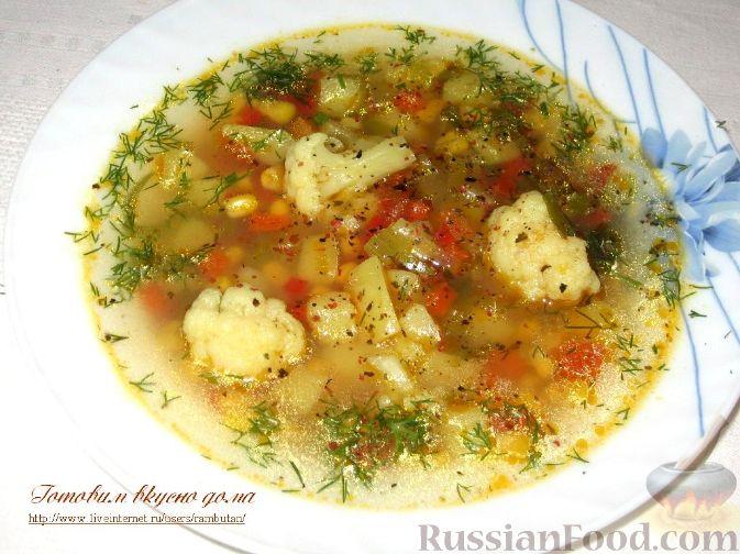 французский рецепт супа с капустой