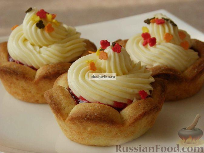 Пирожное «корзиночка» - Кулинарик 96