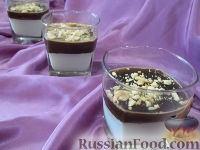 Фото к рецепту: Кофейно-молочное желе