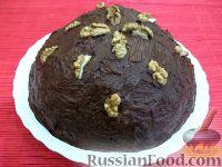 "Фото к рецепту: Торт без выпечки ""Муравейник"""