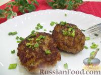 Фото к рецепту: Картофельно-мясные котлеты