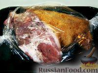 Фото приготовления рецепта: Свиная рулька, запеченная в духовке - шаг №5