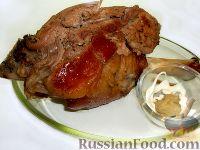 Фото приготовления рецепта: Свиная рулька, запеченная в духовке - шаг №6