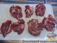 Фото приготовления рецепта: Мясо по-французски (из свинины) - шаг №1