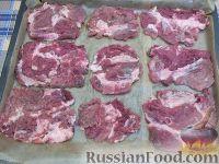 Фото приготовления рецепта: Мясо по-французски (из свинины) - шаг №4