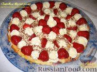 Фото к рецепту: Сырник с клубникой