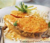 Фото к рецепту: Лосось под соусом чили