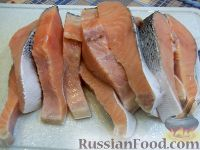 Фото приготовления рецепта: Красная рыба, запеченная в духовке - шаг №1
