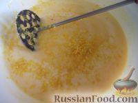 Фото приготовления рецепта: Творожный кекс - шаг №8
