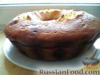 Фото приготовления рецепта: Творожный кекс - шаг №15
