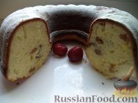 Фото приготовления рецепта: Творожный кекс - шаг №17