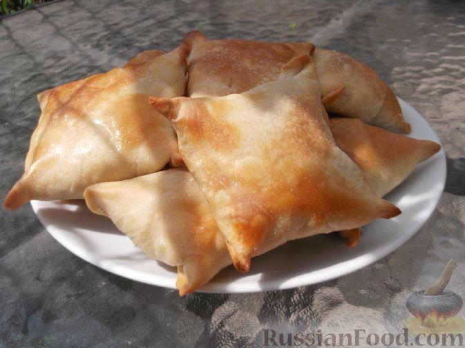 Рецепт Тандыр самса (слоеные пирожки с мясом по-узбекски)
