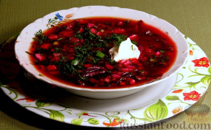 Рецепт Свекольник (холодный борщ)