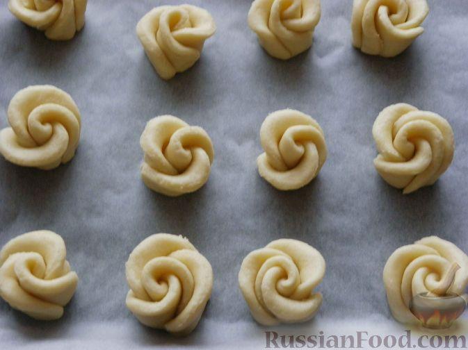 творожные розочки рецепт с фото пошагово