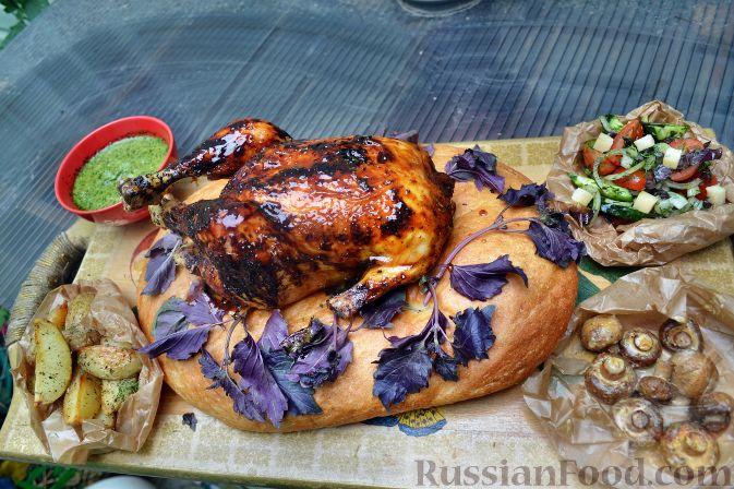 Рецепт Курица в соусе барбекю