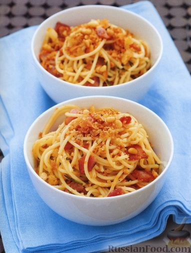 Рецепт Спагетти с беконом
