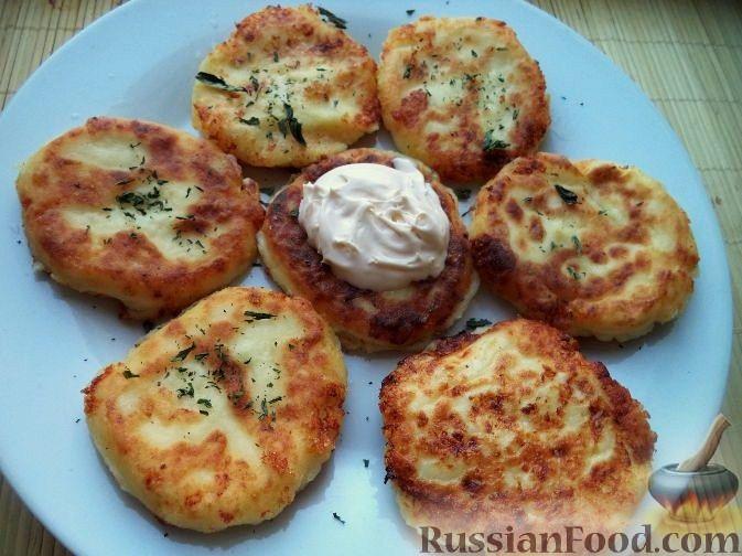 Рецепт Сырники домашние из творога