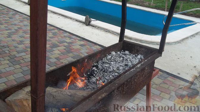 Рецепт Приготовления Рыбы На Костре