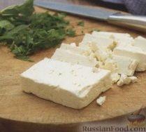 Фото приготовления рецепта: Закусочные рулеты с печеными овощами и сыром - шаг №2