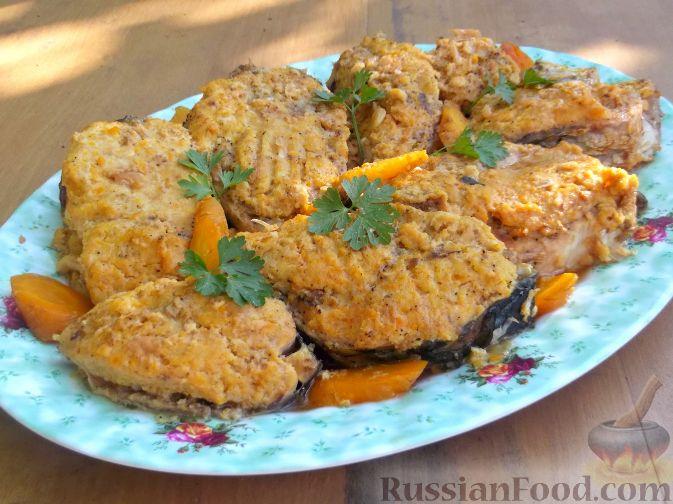 Рецепт Фаршированная рыба (еврейская кухня)