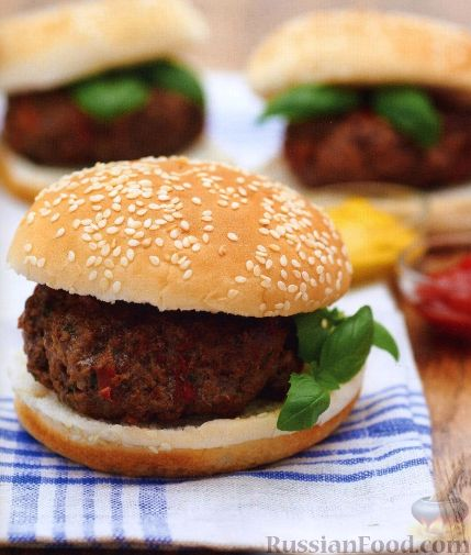 Рецепт Классические гамбургеры