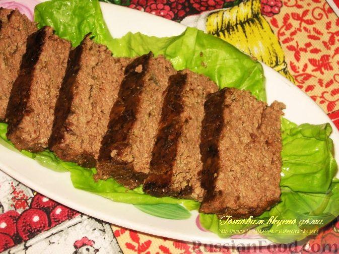 Рецепт Печеночно-мясной запеченный паштет